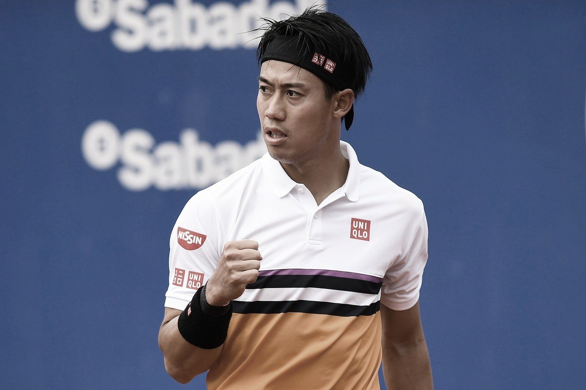 Nishikori testa positivo para coronavírus, está fora de Cincinnati e não deve jogar US Open