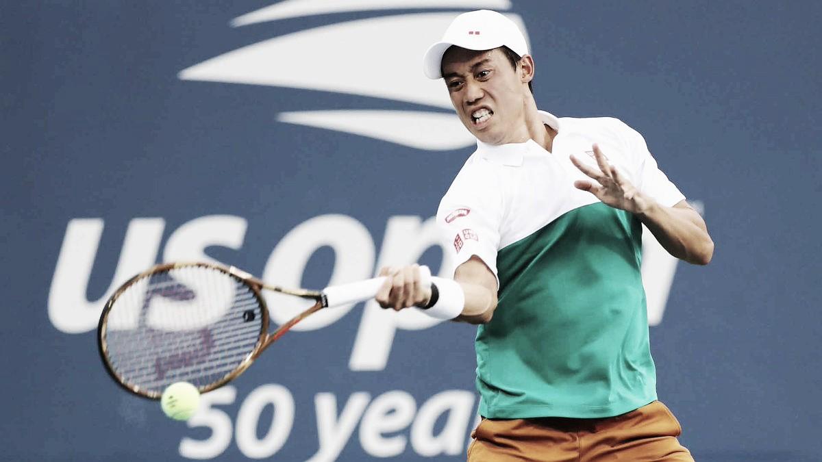 Nishikori avança com facilidade contra Marterer no US Open