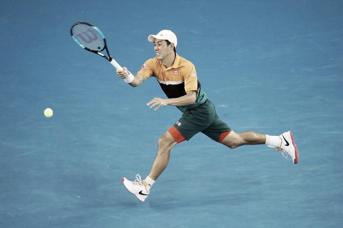 Nishikori vira jogo tenso contra Carreño Busta e sobrevive no Australian Open