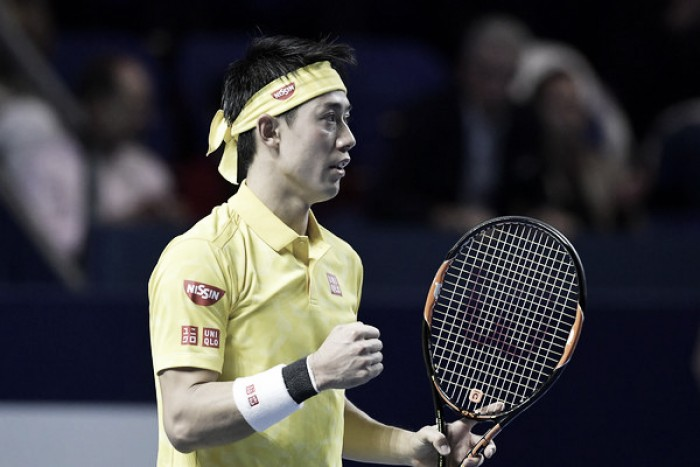ATP Basel: Kei Nishikori survives scare to reach final