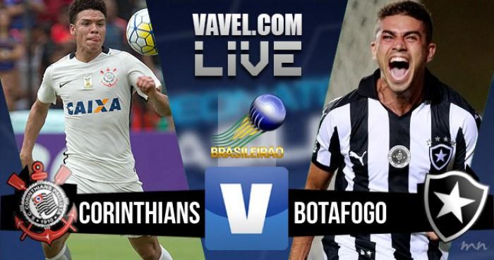 Resultado Corinthians x Botafogo pelo Campeonato Brasileiro 2016 (3-1)
