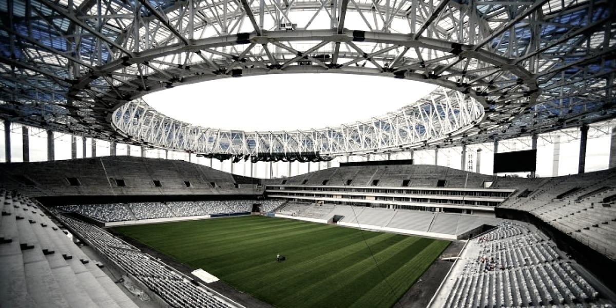 El Nizhny Nóvgorod Stadium recibirá el segundo partido de Argentina
