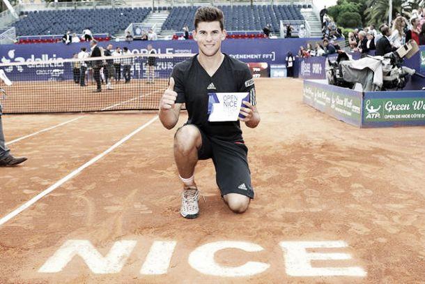 ATP: primo titolo per Thiem a Nizza, Bellucci si prende Ginevra