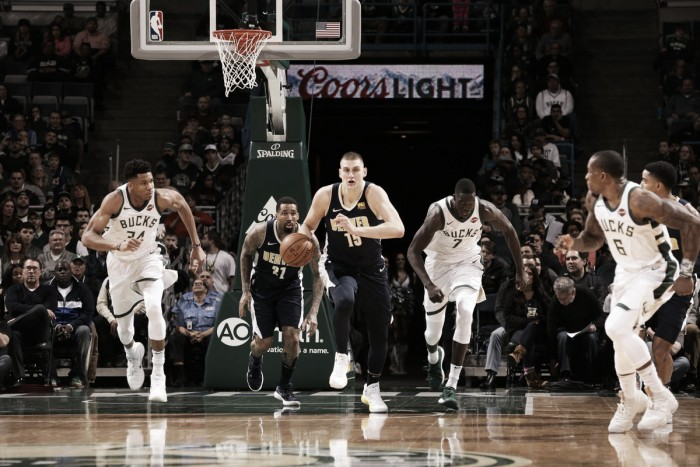 Basket, NBA 2017/2018: Bucks sconfitti dai Nuggets, Minnesota supera i Lakers