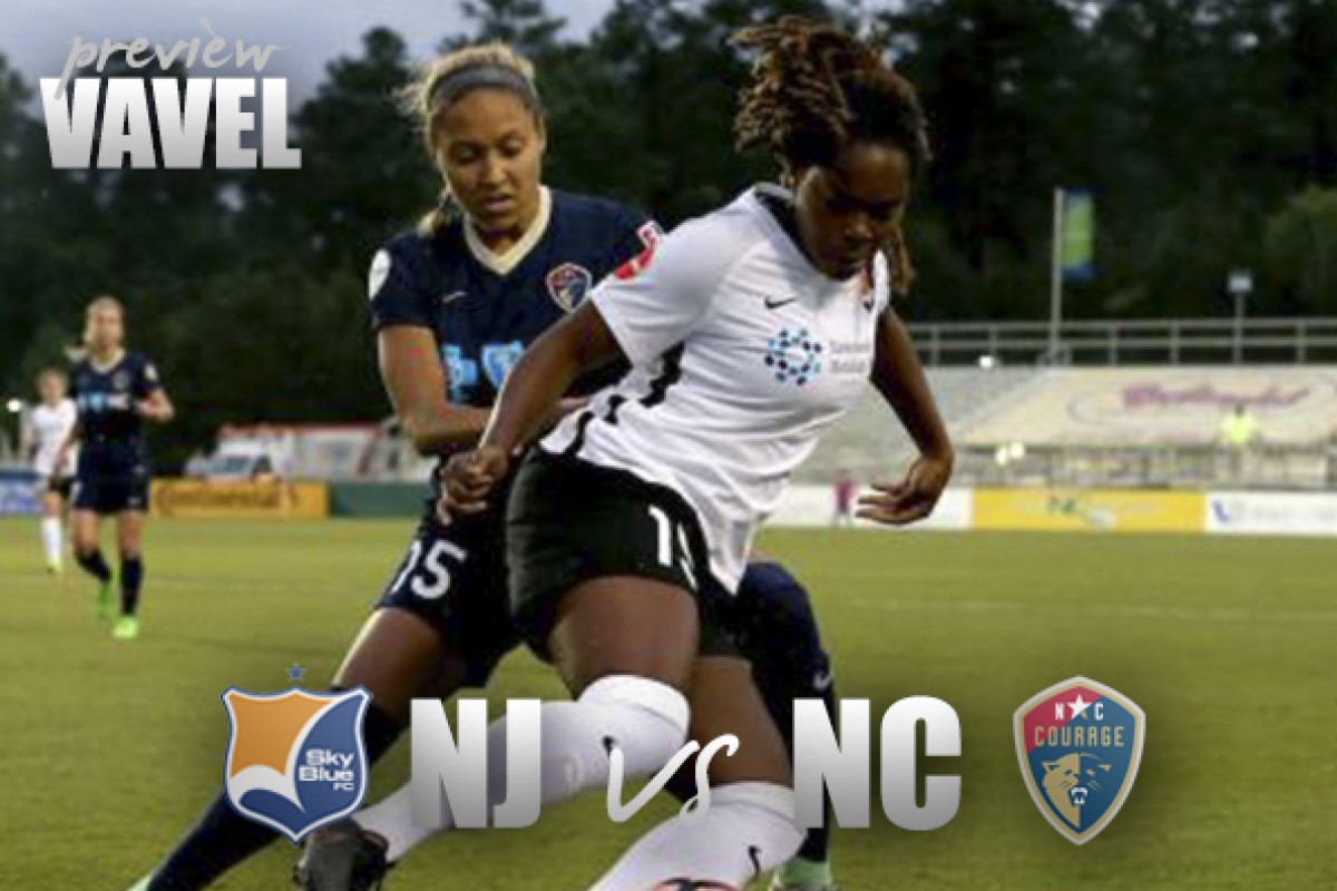 Sky Blue FC vs North Carolina Courage preview: Opposite ends of the table meet