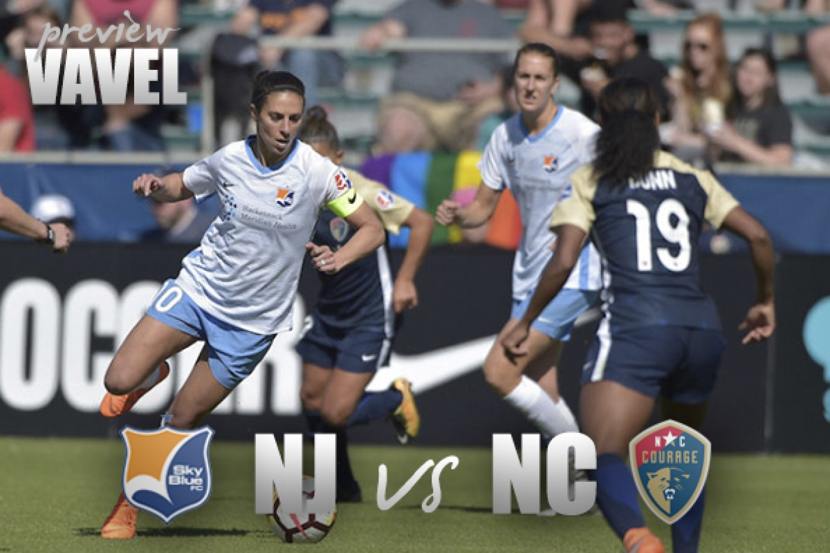 Sky Blue FC vs North Carolina Courage preview: Struggles and success
