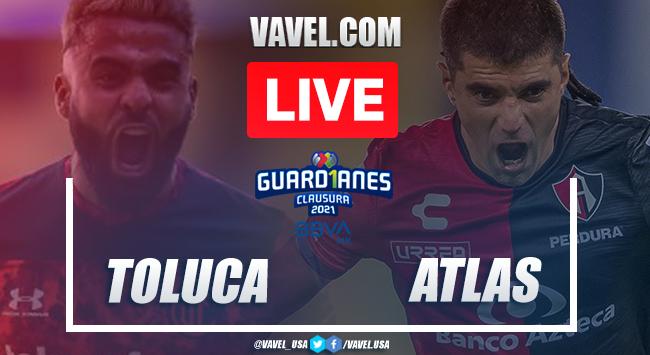 Highlights:Toluca 0-0 Atlas in Liga MX Guard1anes 2021