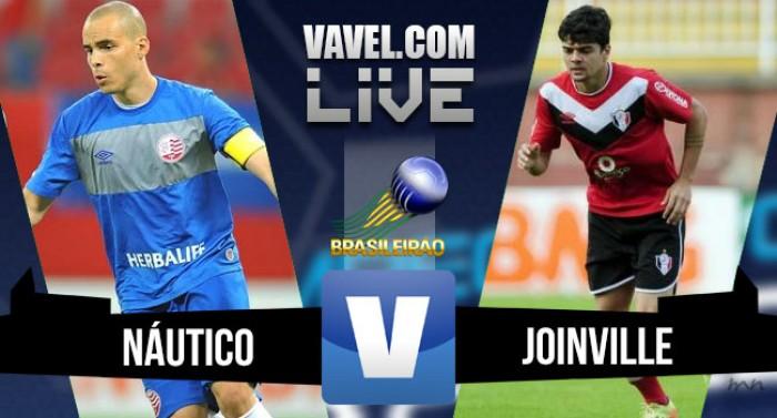 Resultado Náutico x Joinville na Série B (2-0)
