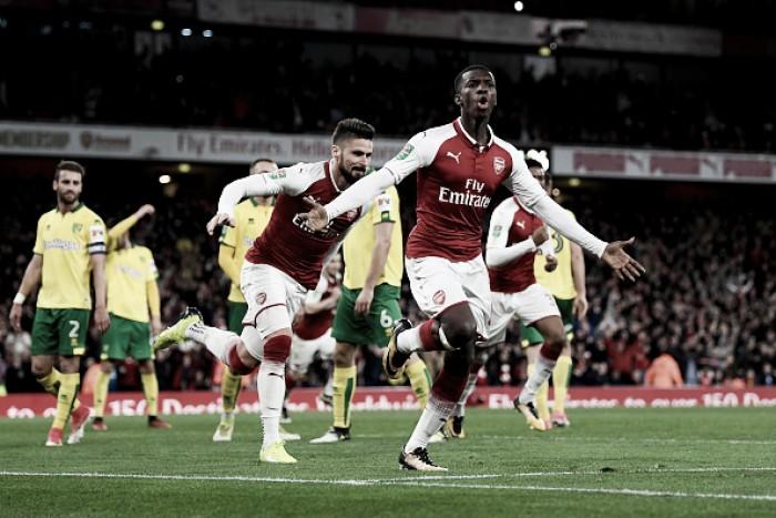 Promessa da base, Eddie Nketiah renova contrato com Arsenal