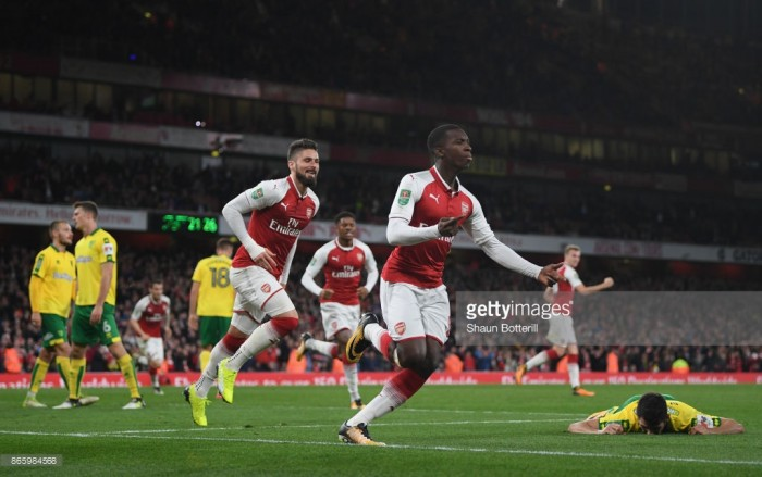 Arsenal 2-1 Norwich City (AET): Nketiah makes name for himself with match-winning double