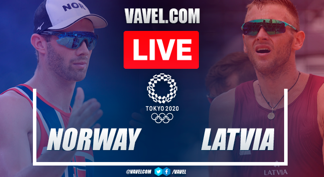 Highlights: Norway 2-0 Latvia in Semifinals Men's Beach Volleyball Olympic Games 2020