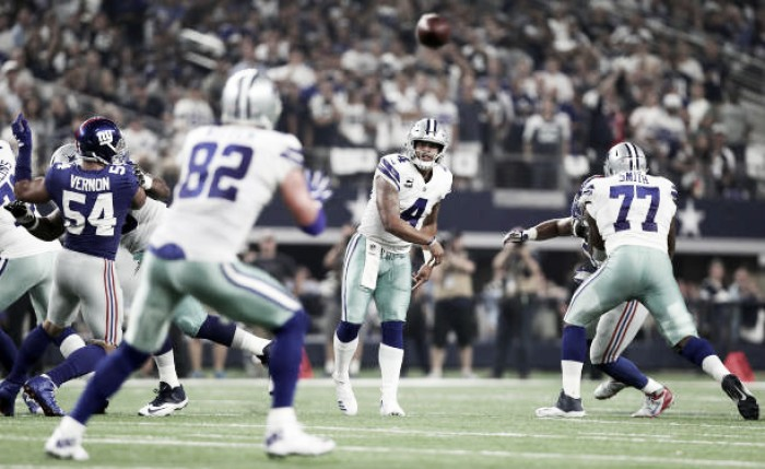 Em clássico, Cowboys não dá chances para Giants e vence no Sunday Night Football