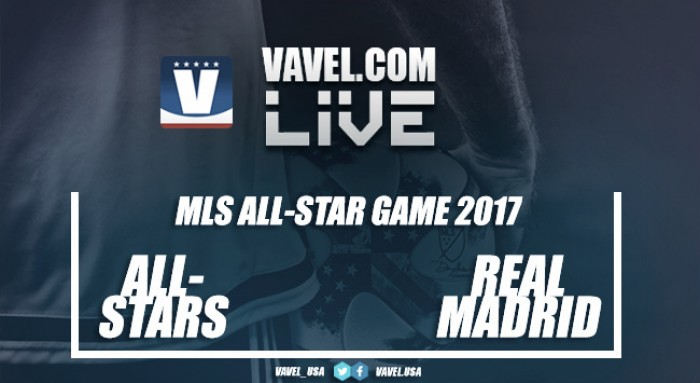 Results and Scores of MLS All-Stars 1 (2) - 1 (4) Real Madrid 2017 MLS All-Stars Game