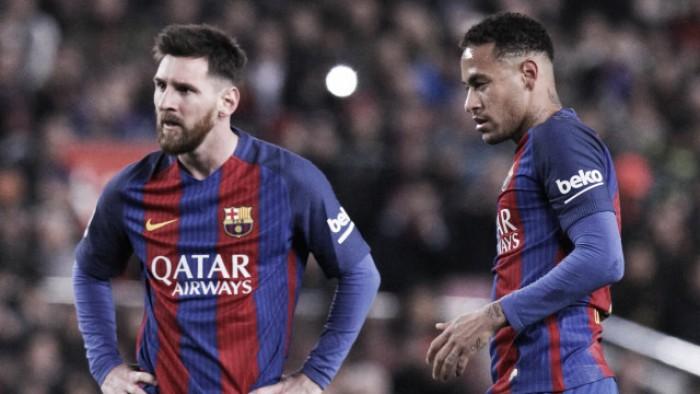 """Barcellona, Neymar: """"Possiamo ancora vincere tutto. Messi? Il numero uno"""""""