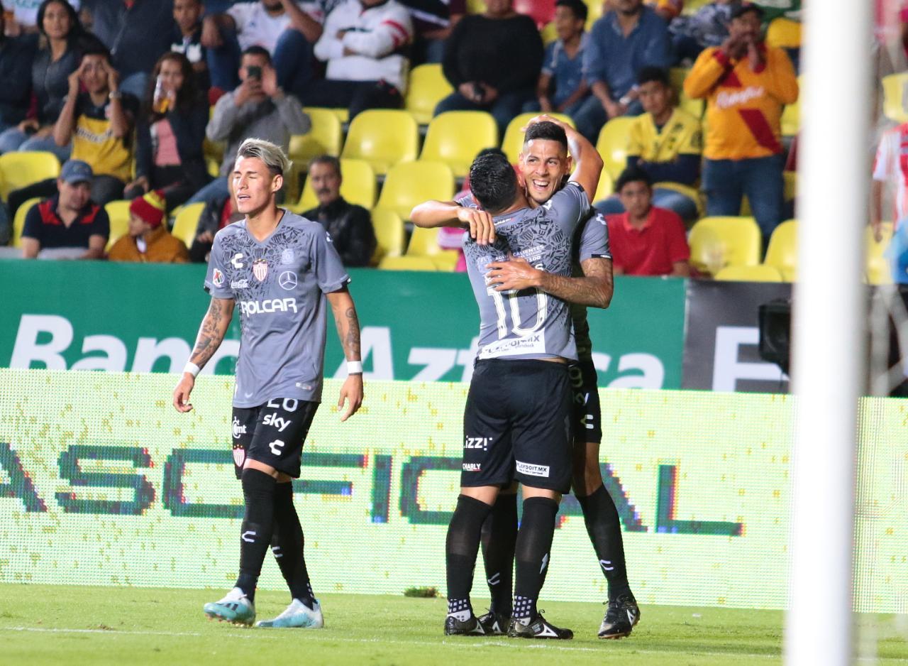 Puntuaciones de Necaxa en la jornada 13 del Apertura 2019 de la Liga MX