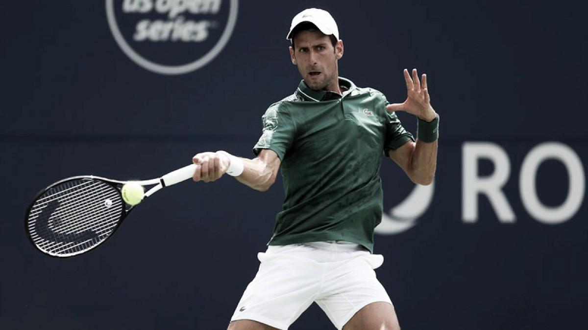 Djokovic a octavos de final en Toronto