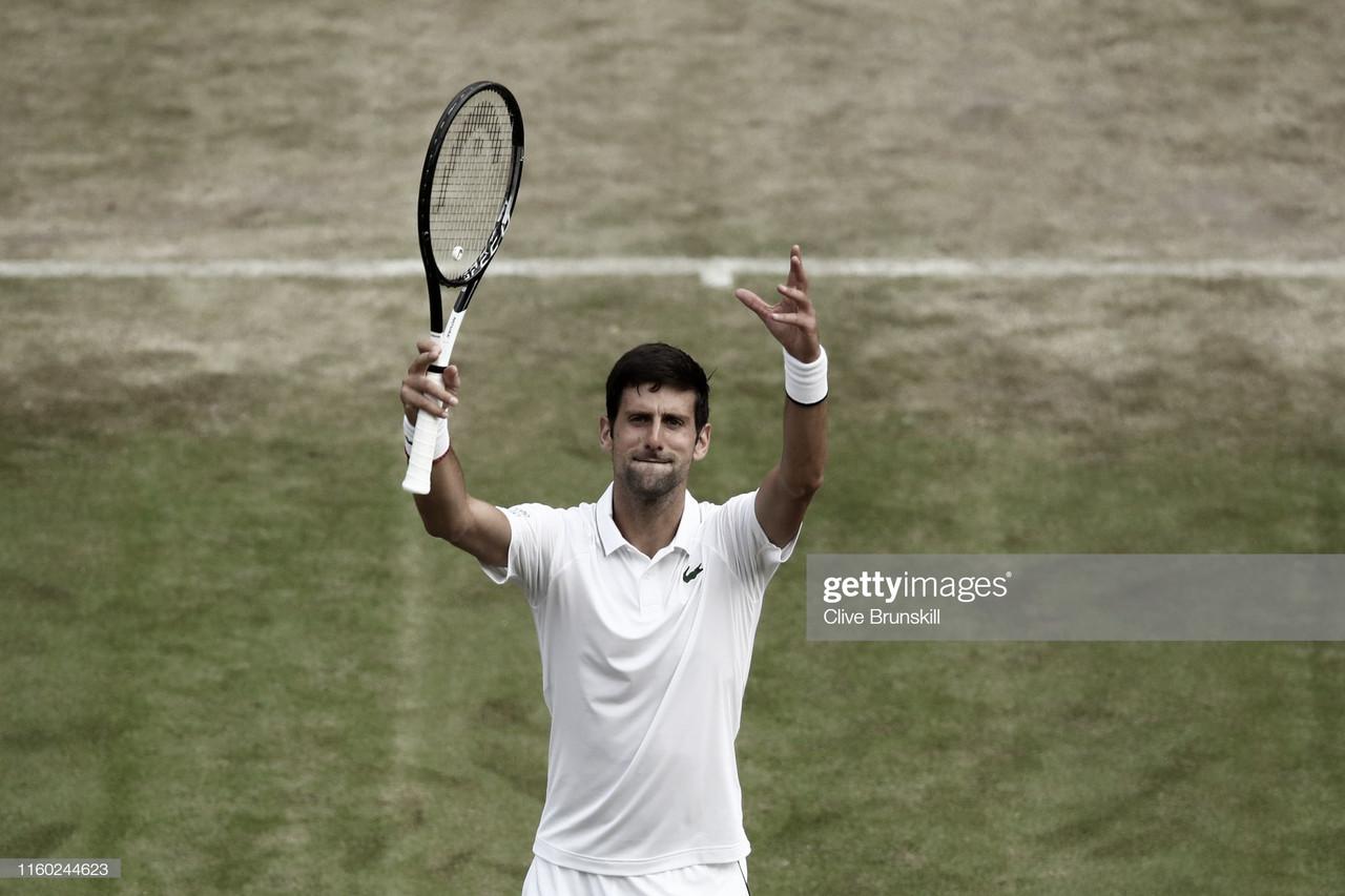 Djokovic alcanza la segunda semana en Wimbledon