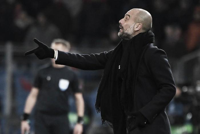 """Pep Guardiola: """"Tenemos pie y medio en cuartos"""""""