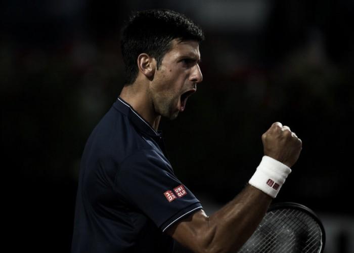 La mejor versión de Djokovic aplasta a Thiem