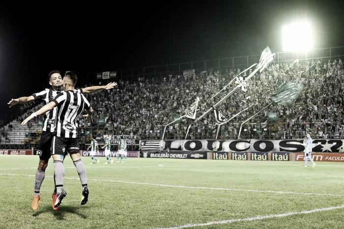 Com show de Neílton, Botafogo bate líder Palmeiras e deixa Z-4