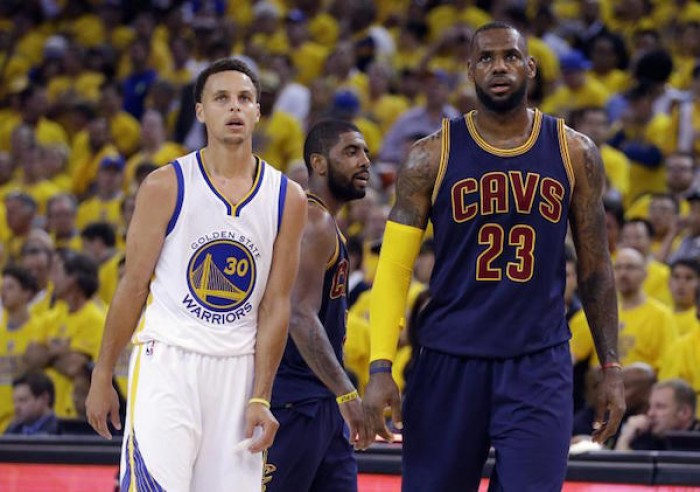NBA Finals - Curry & James davanti ai microfoni a poche ore da gara 4