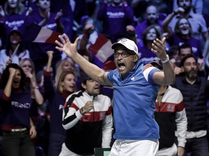 Yannick Noah continuará como capitán de Francia
