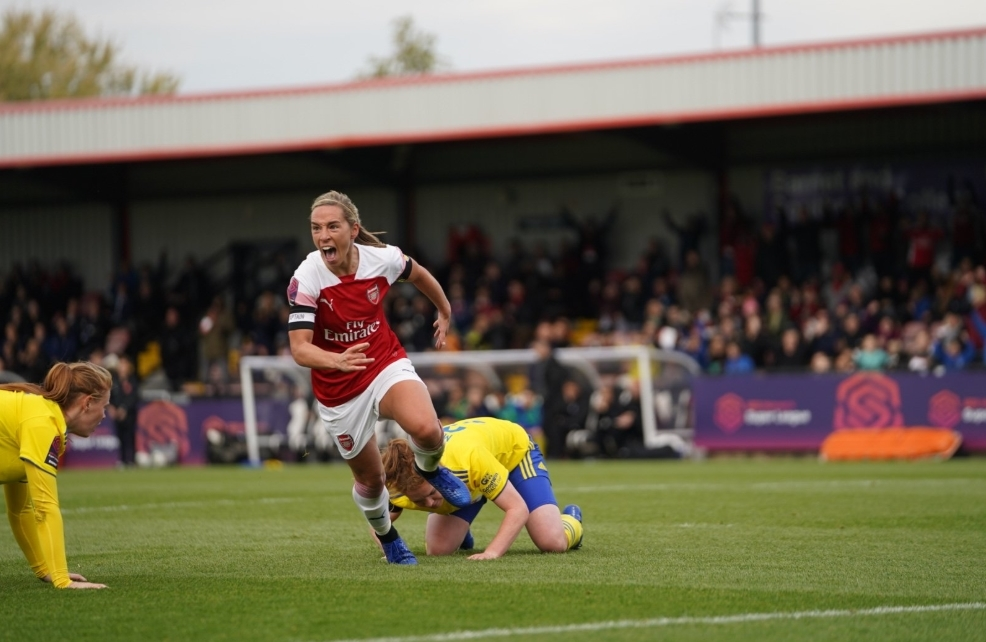 Arsenal 3-1 Birmingham: Gunners maintain unbeaten start to WSL