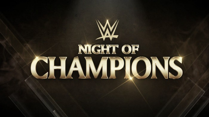WWE Night of Champions listed as Clash of Champions