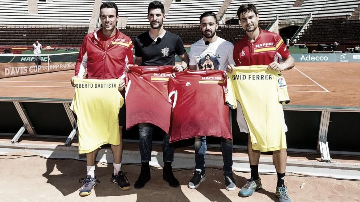 El Villarreal apoya a España en la Copa Davis