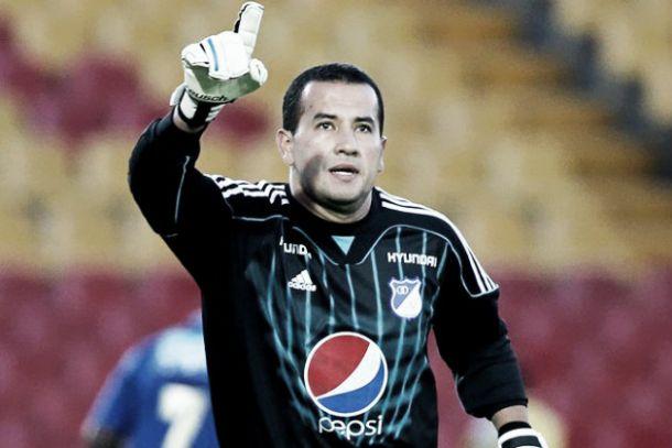 Nelson Ramos y su paso por el arco de Millonarios