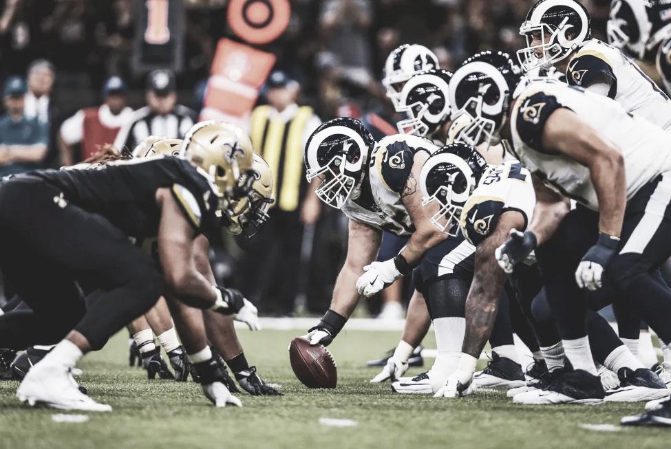 LA Rams e NO Saints decidem o título da NFC no Superdome