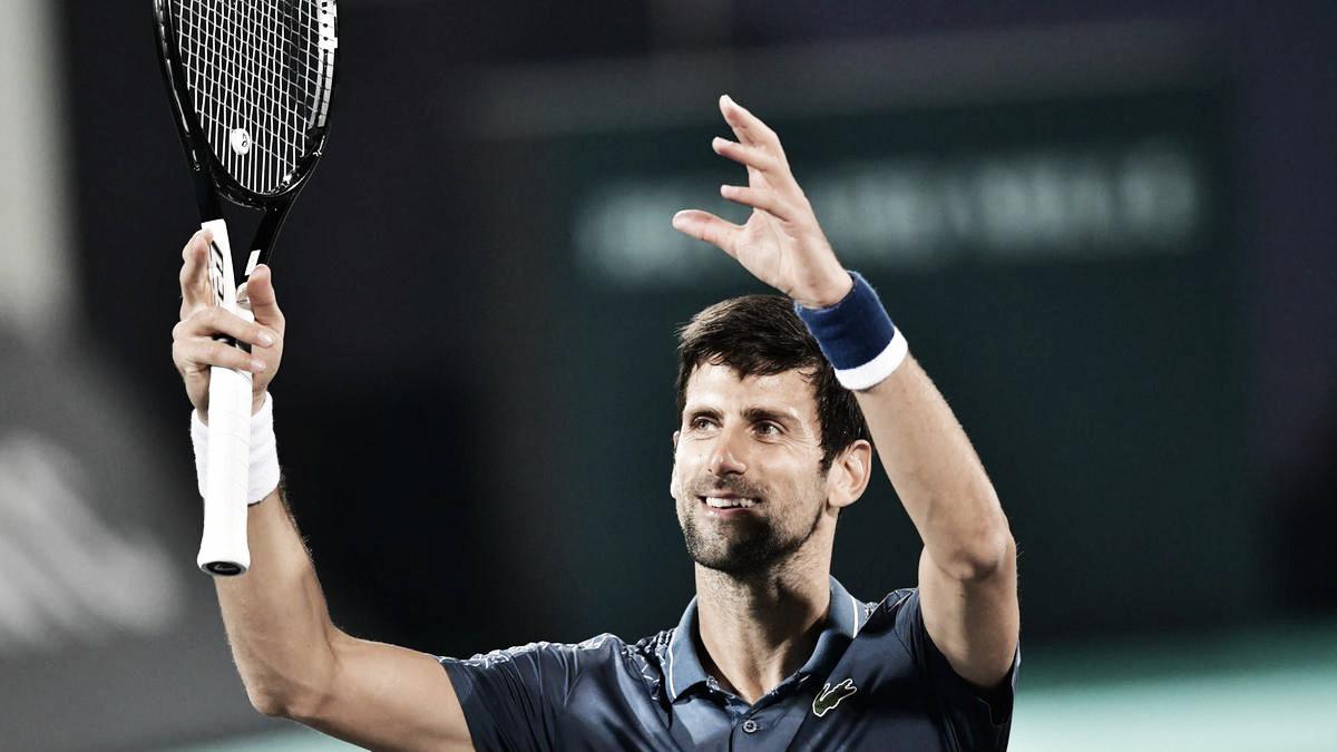 Djokovic se consagra por cuarta vez en Abu Dabi