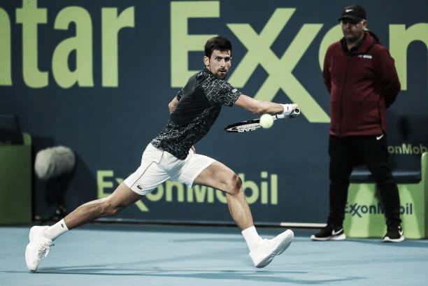 Djokovic se cita con Bautista en las semis de Doha