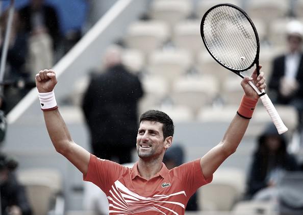 Djokovic se planta en cuartos pleno de confianza