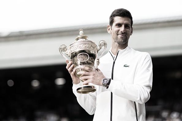 Actualización ránking ATP 15 de julio de 2019: Djokovic, sólido líder