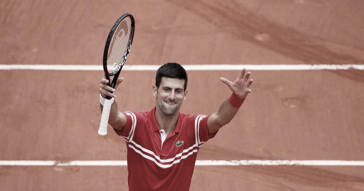 Sem dificuldades, Djokovic vence Berankis e vai às oitavas de Roland Garros