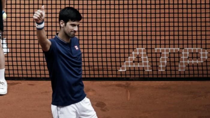 Djokovic va por la recuperación