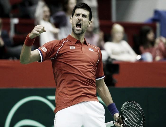 Davis Cup, Djokovic trema ma si salva. Coric fa fuori il Belgio