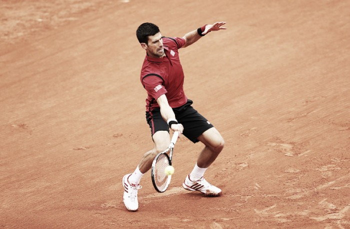 French Open: Novak Djokovic advances to the second round after an easy straight set win over Yen-Hsun Lu