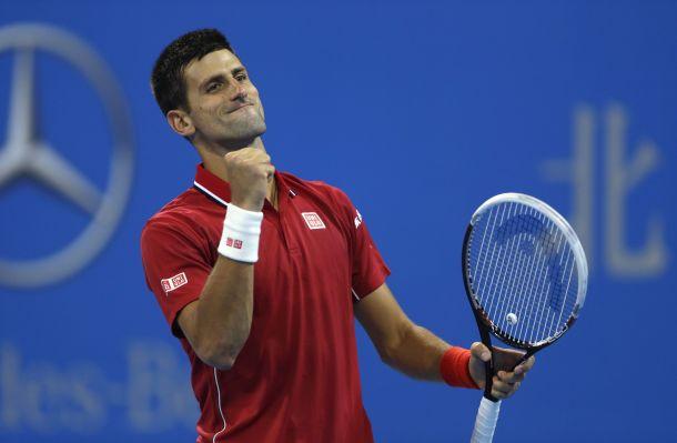 ATP Pechino 2015: troppo Djokovic, Bolelli si arrende