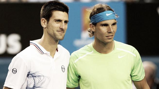 Previa Novak Djokovic - Rafael Nadal: una cita con la historia