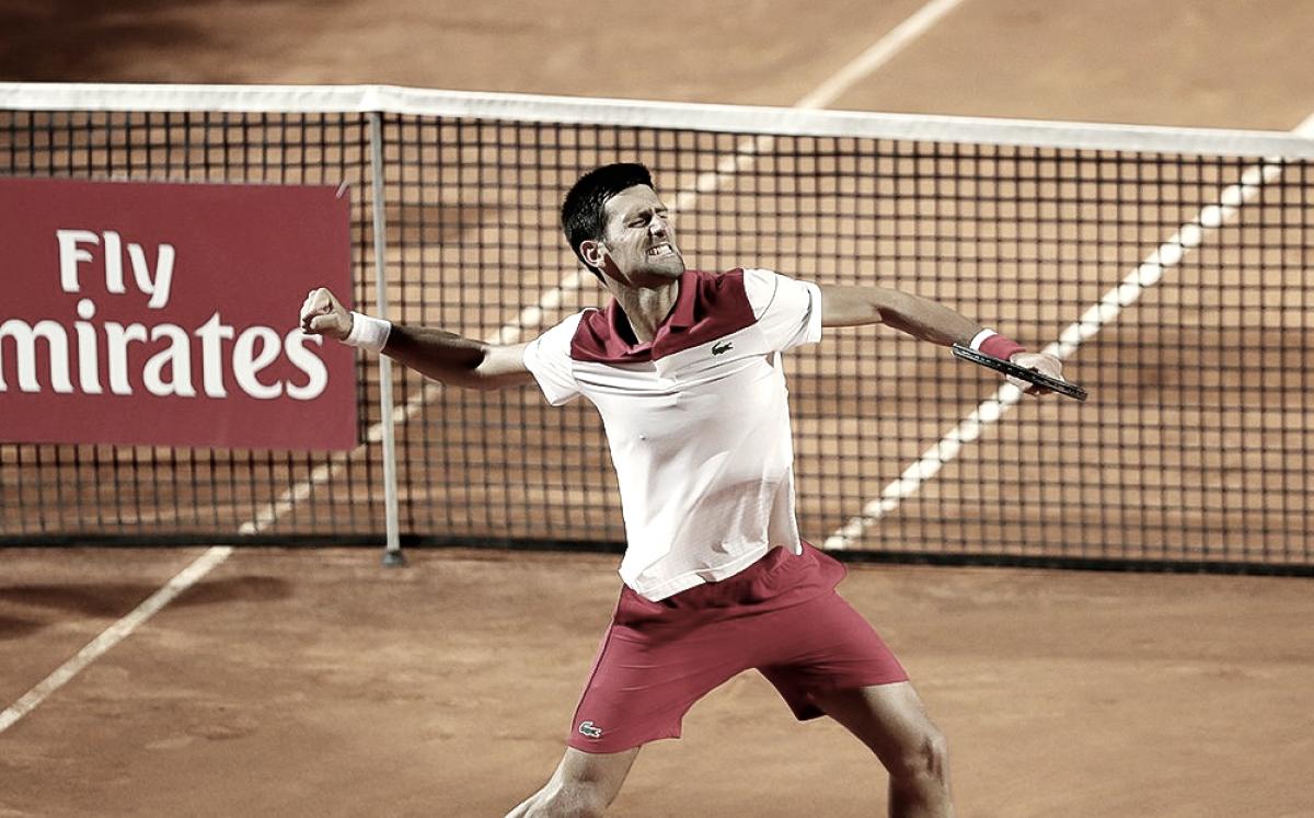 Novak sufrió pero está en semifinales