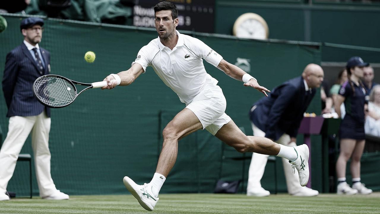 Djokovic bate Fucsovics, chega a 100 vitórias na grama e segue às semis em Wimbledon