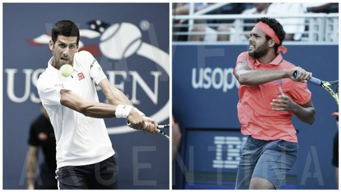 US Open: Djokovic vs Tsonga
