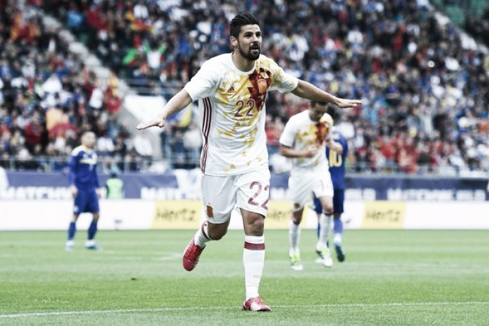Spain 3-1 Bosnia: Nolito lights up an experimental Spanish side