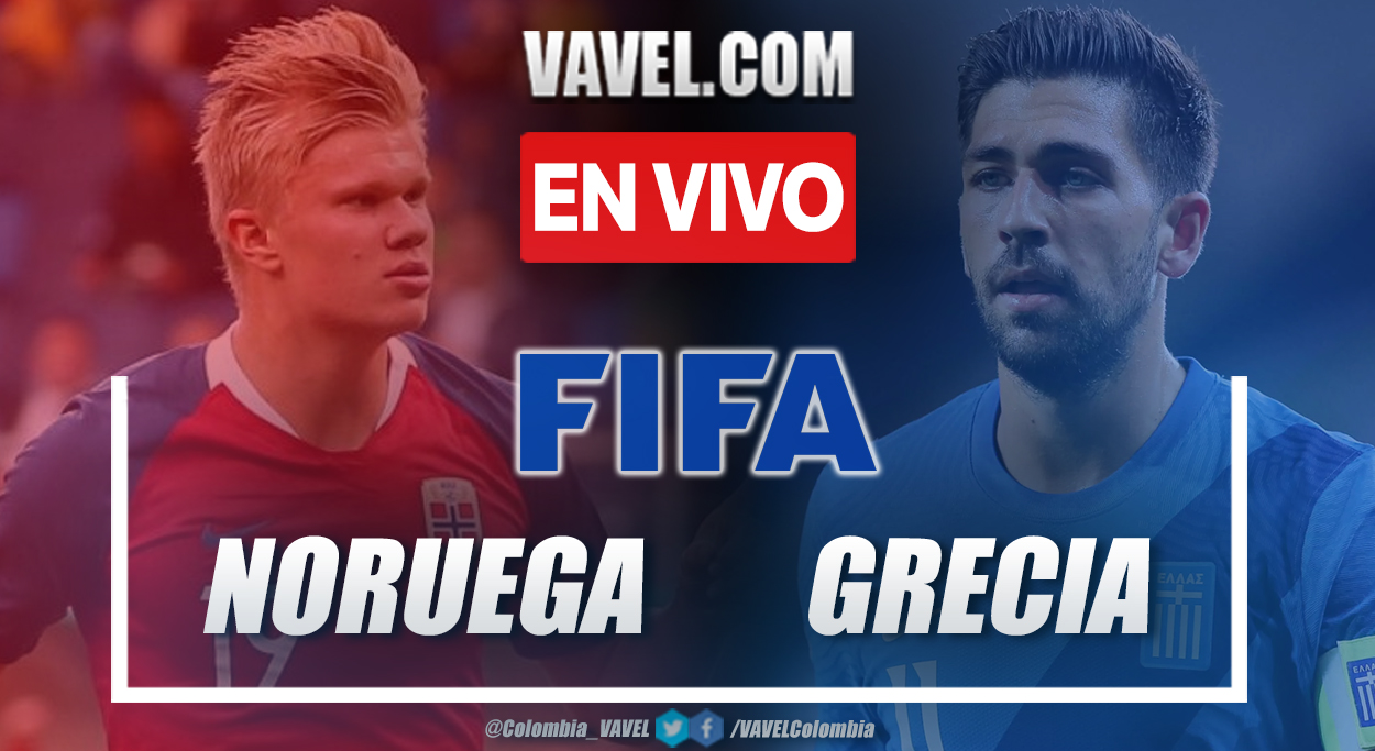 Resumen Noruega (1-2) Grecia en partido amistoso 2021