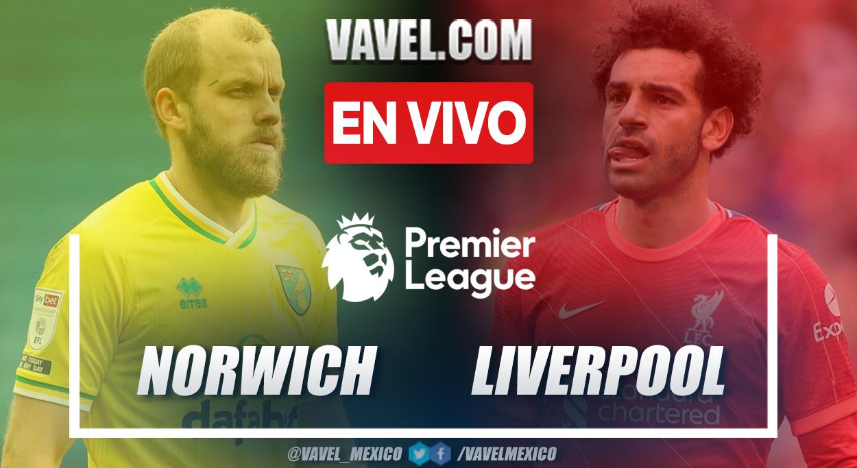 Resumen y goles: Norwich 0-3 Liverpool en la primera jornada de la Premiere League 2021/2022