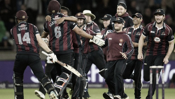 Cobb smashes Northants to T20 Finals Day triumph
