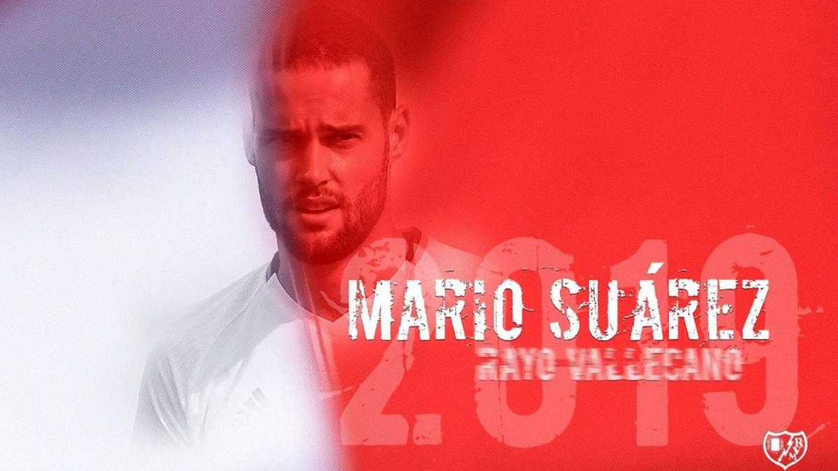 Mario Suárez debutó con la camiseta del Rayo