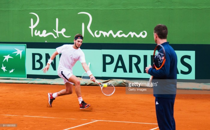 Great Britain's Cameron Norrie stuns Roberto Bautista Agut to level Davis Cup tie in Marbella